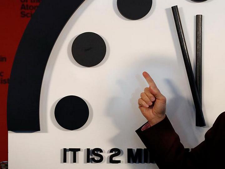Часы Судного дня перевели на 20 секунд вперед