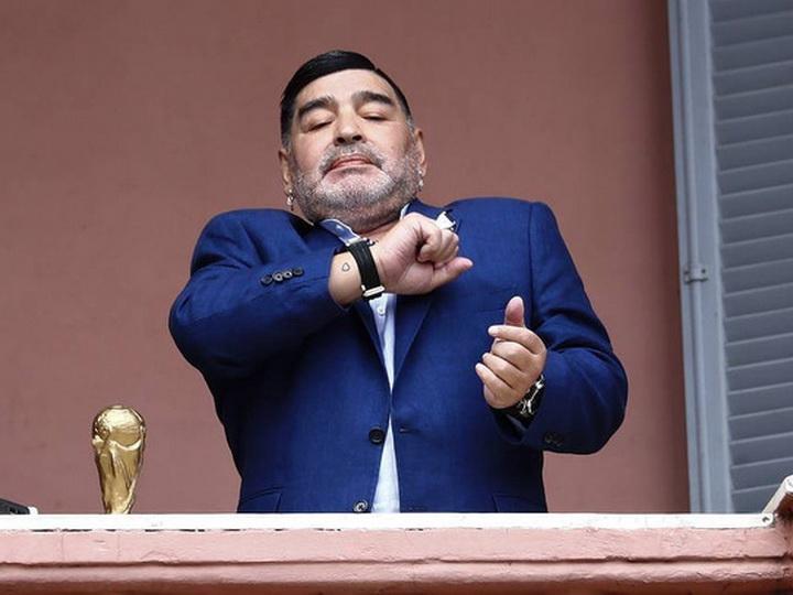 Марадона отказался от должности тренера сборной Венесуэлы по футболу