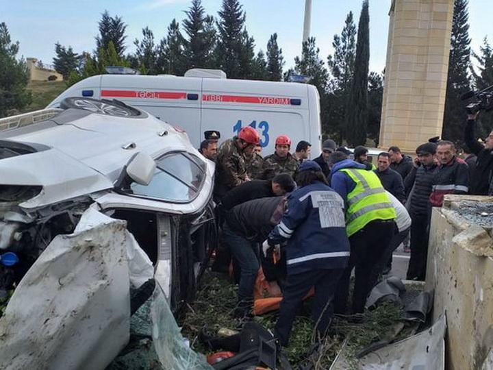 В 2019 году в Баку заметно снизилось число погибших в ДТП