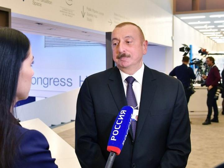 Президент Ильхам Алиев спрогнозировал цену на нефть в 2020 году – ВИДЕО
