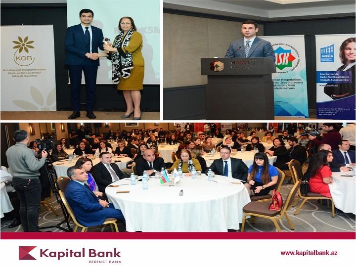 Kapital Bank növbəti dəfə Milli KSM mükafatına layiq görülüb