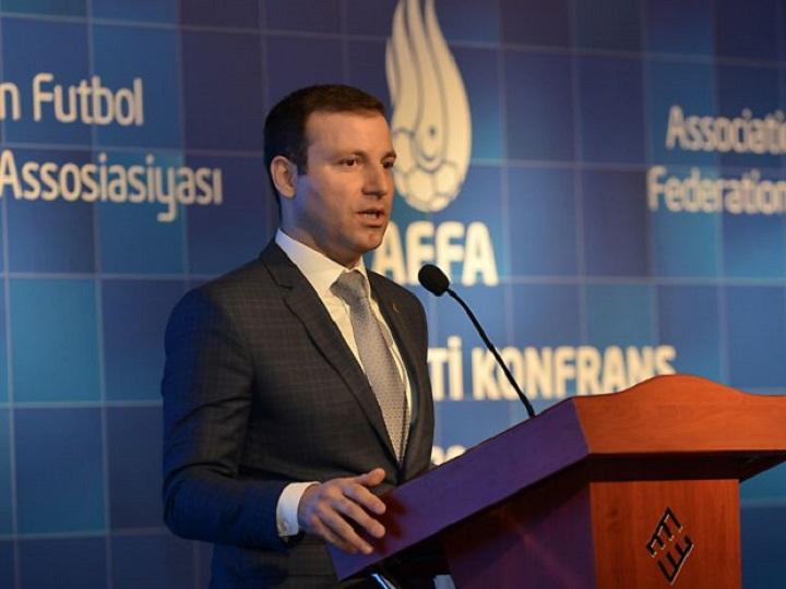 Elxan Məmmədov AFFA-nın icraçı vitse-prezidenti seçildi