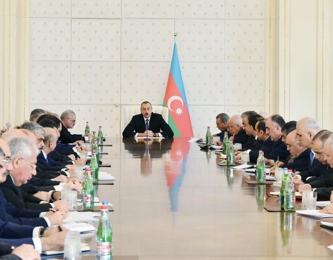 Prezident İlham Əliyev koronavirusa görə nazirlərə tapşırıq verdi