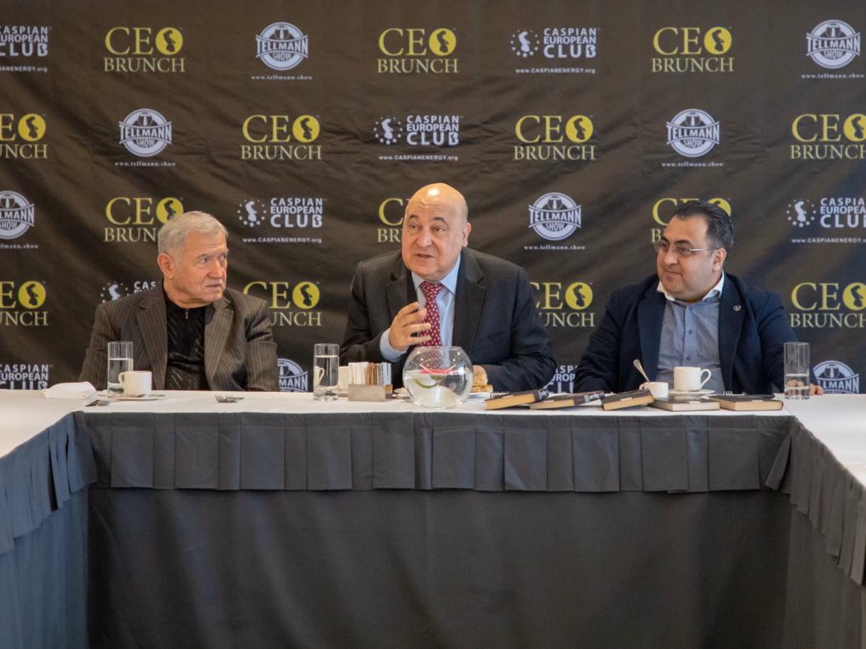 Caspian European Club возобновляет проведение CEO Brunch в Азербайджане, Грузии и Казахстане