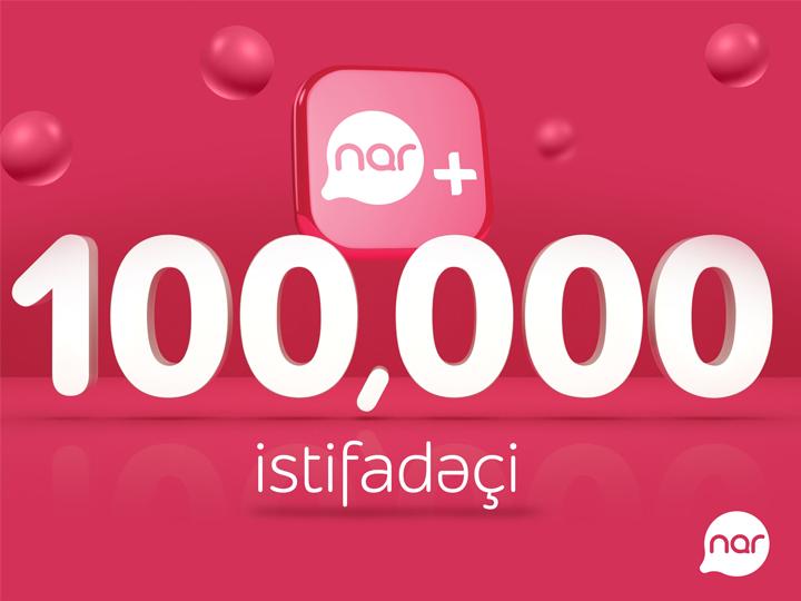 Количество пользователей приложения Nar+ превысило 100 тысяч