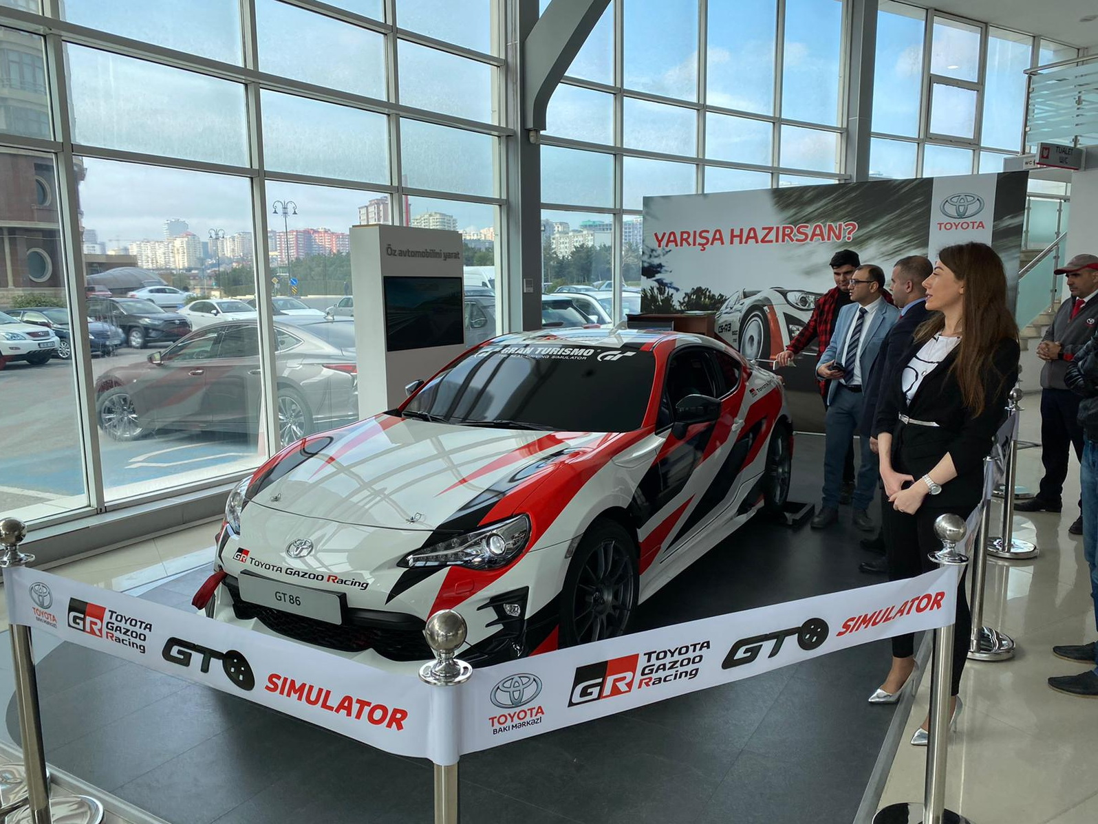 Сюрприз от Toyota любителям автомобильных гонок! – ФОТО