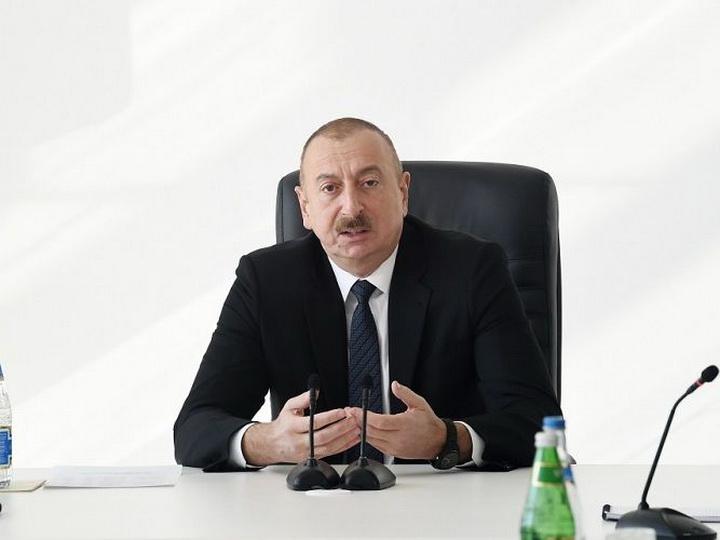 Ильхам Алиев: Азербайджан не видит оснований для вовлечения третьих стран в конфликт в Карабахе