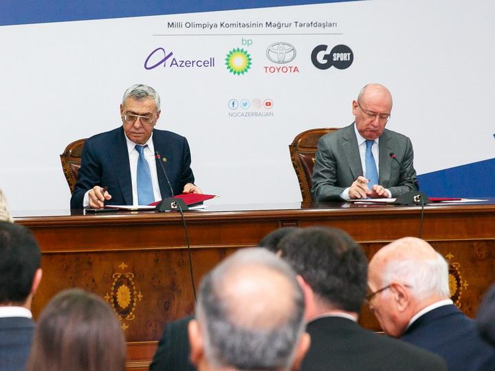 Олимпийский и Паралимпийский комитеты Азербайджана подписали меморандум о сотрудничестве