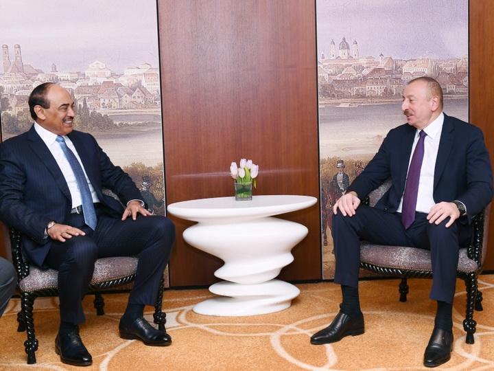 Президент Ильхам Алиев встретился в Мюнхене с премьер-министром Кувейта - ФОТО