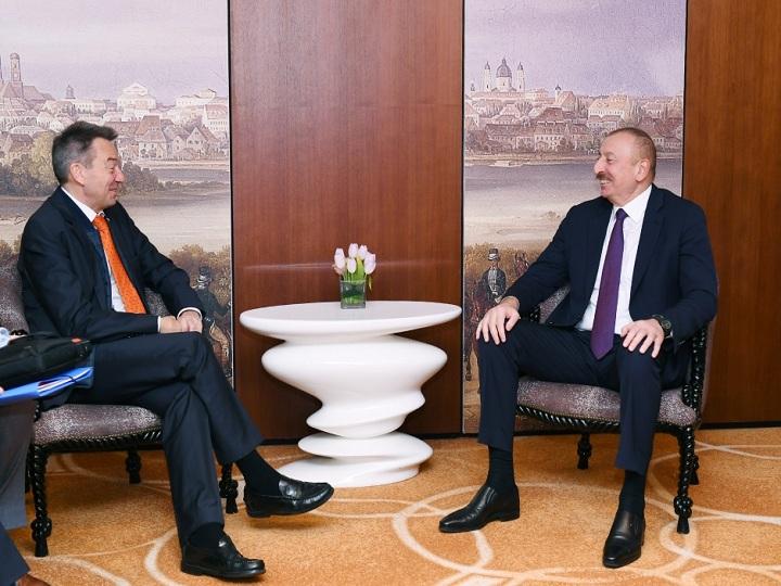 İlham Əliyev Beynəlxalq Qırmızı Xaç Komitəsinin prezidenti ilə görüşüb – FOTO – YENİLƏNİB
