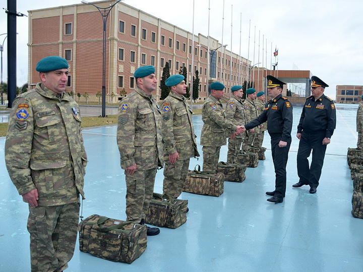 Группа азербайджанских миротворцев вернулась из Афганистана – ФОТО