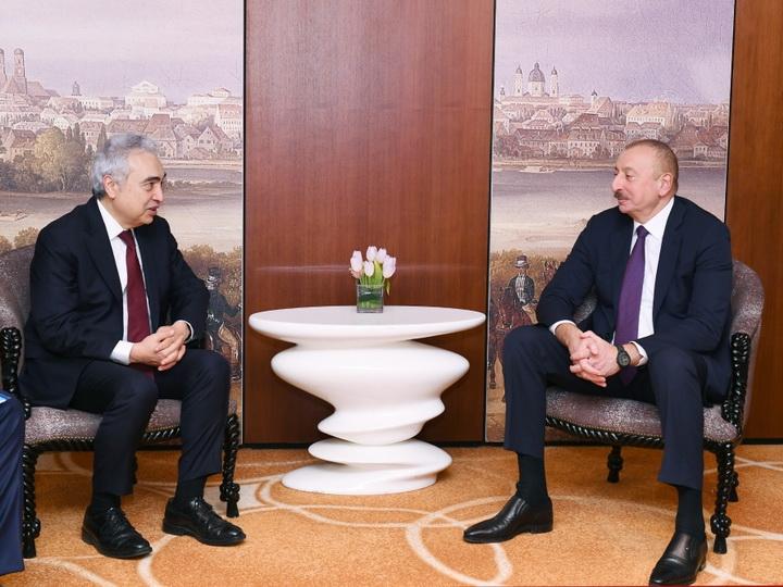 Президент Ильхам Алиев встретился с исполнительным директором Международного энергетического агентства - ФОТО