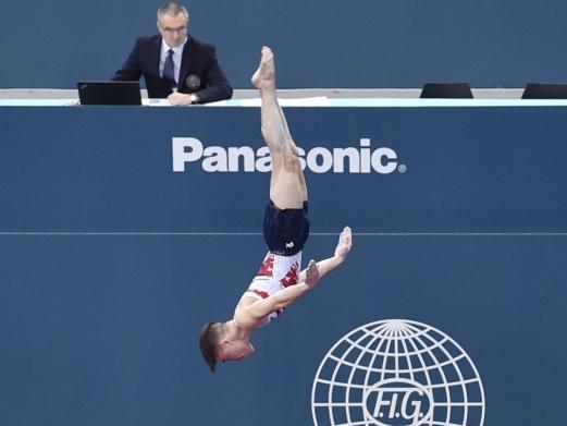Азербайджанский гимнаст Фарид Мустафаев вышел в финал соревнований Кубка мира
