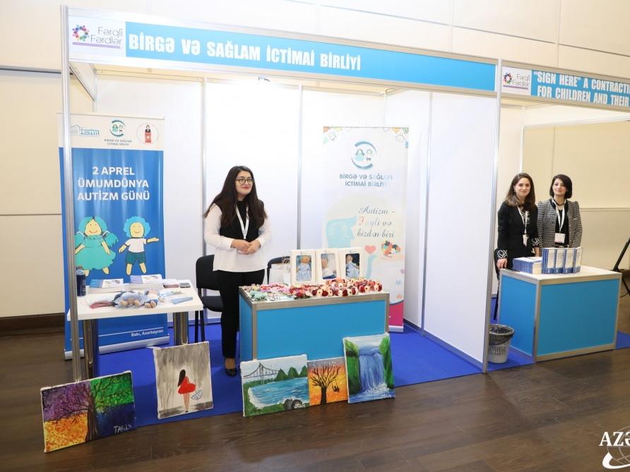 В Центре Гейдара Алиева проходит II Конгресс Fərqli Fərdlər, посвященный детям с особенностями развития - ФОТО