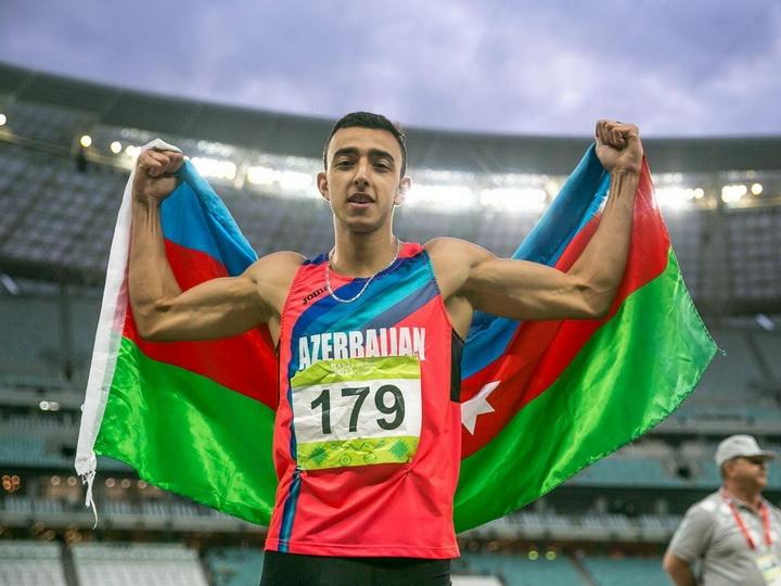 Назим Бабаев опередил армянского спортсмена и выиграл золотую медаль - ФОТО
