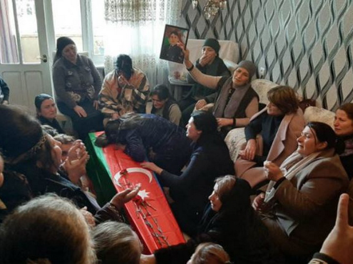 Азербайджанский шехид предан земле - ФОТО - ВИДЕО - ОБНОВЛЕНО