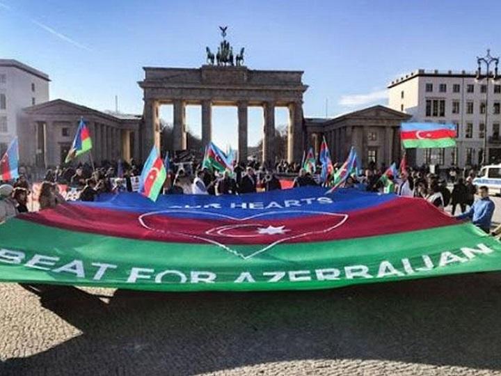 Almaniyada Ümumavropa Qarabağ mitinqi keçiriləcək