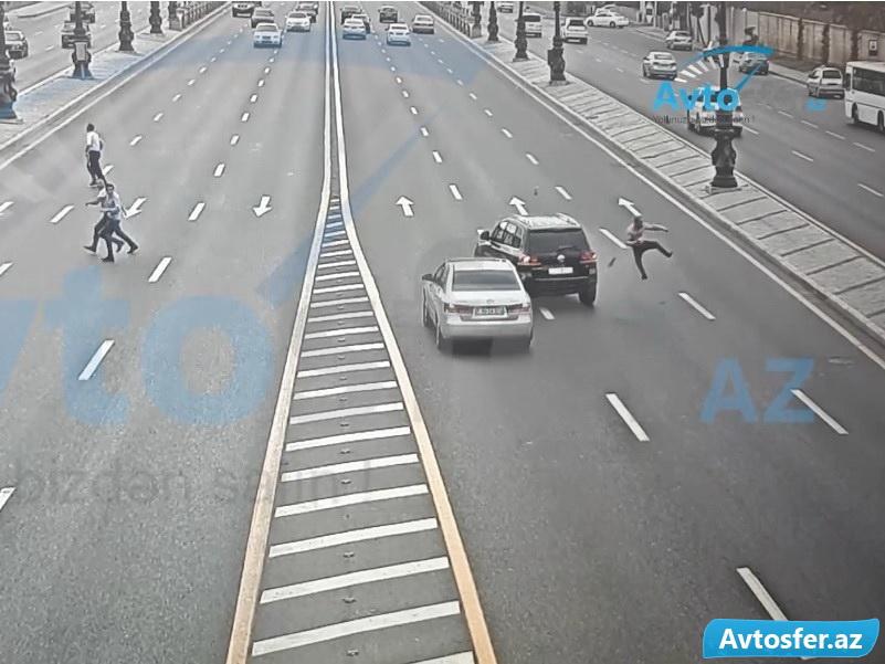На этом проспекте Баку постоянно сбивают пешеходов – ШОКИРУЮЩЕЕ ВИДЕО