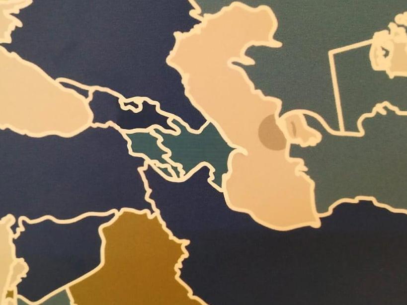 Российский музей после обращения посольства исправил искаженную карту Азербайджана - ФОТО