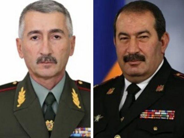 В Армении уволены два высокопоставленных чиновника Минобороны