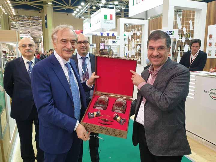 «Азерчай» принял участие в международной выставке, организованной в Москве – ФОТО