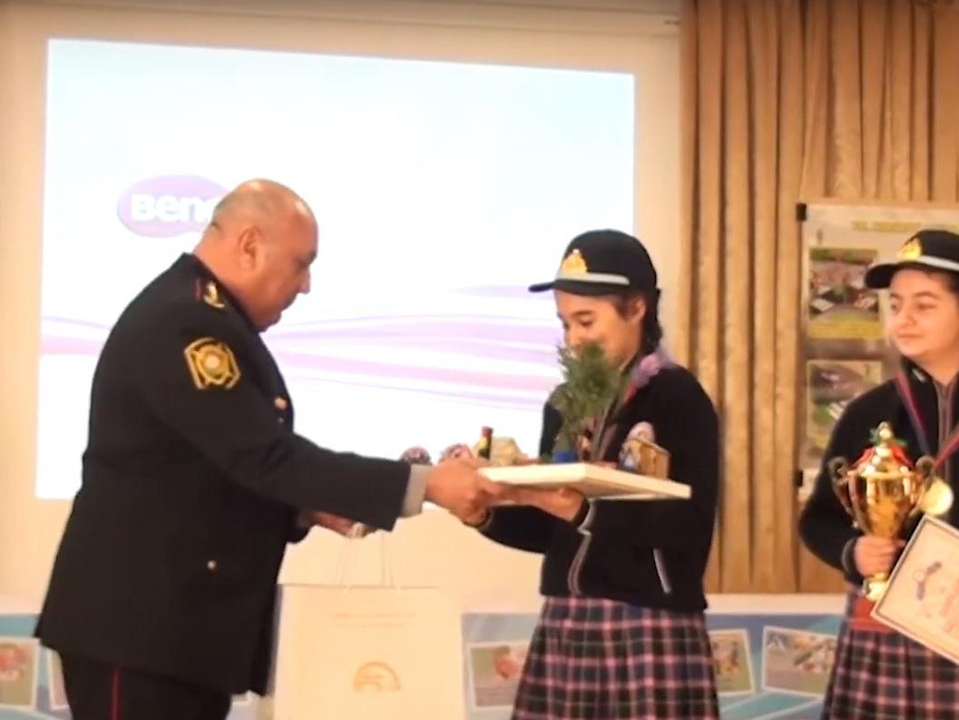Дорожная полиция Баку усиливает работу с детьми для предотвращения ДТП - ВИДЕО