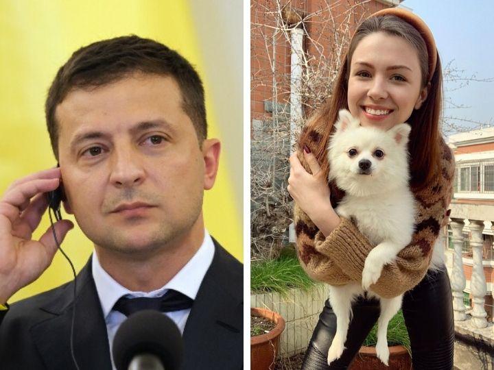 Президент Украины позвонил девушке, оставшейся в Ухане из-за своей собаки - ВИДЕО