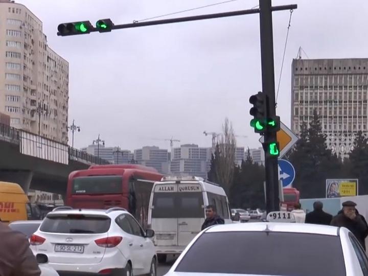 Расширяется один из проспектов Баку - ФОТО