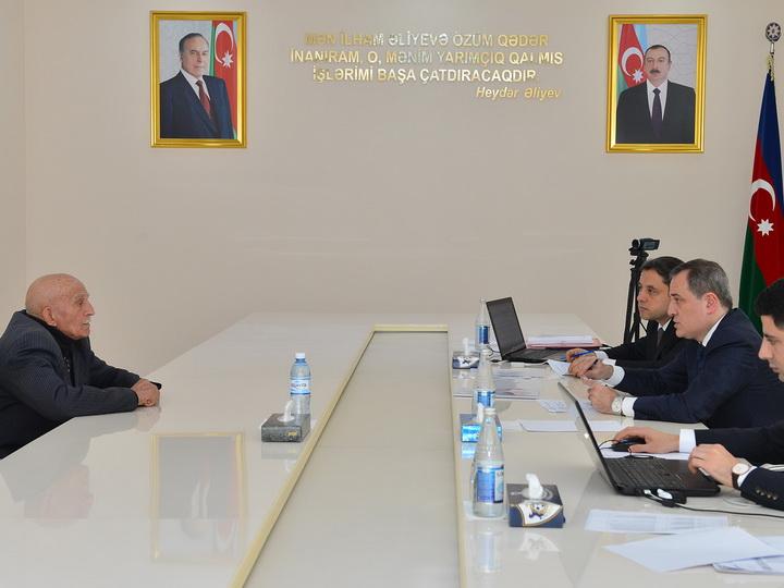 Министр образования принял граждан в Кюрдемире - ФОТО