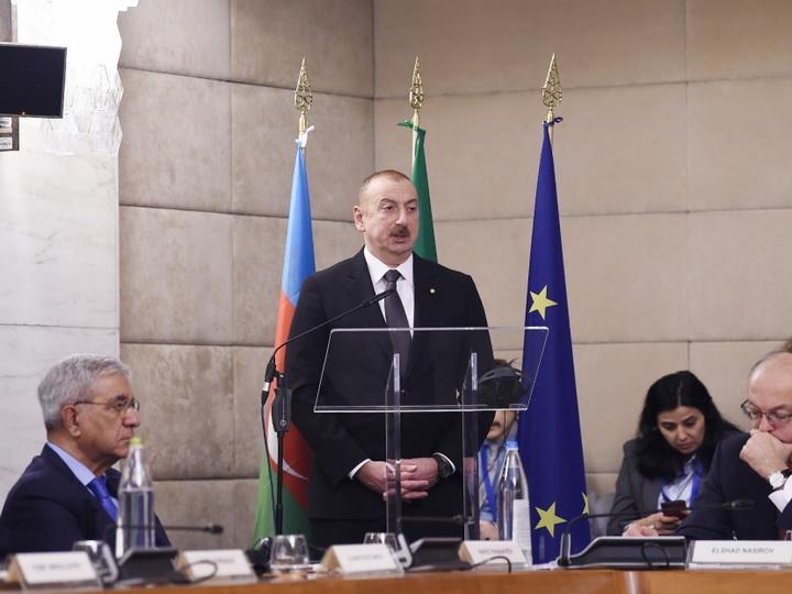 В Риме состоялся азербайджано-итальянский бизнес-форум - ФОТО