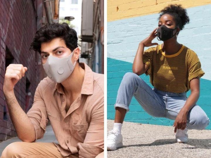 Новинка от дизайнеров: стильная маска для защиты от вирусов - ФОТО