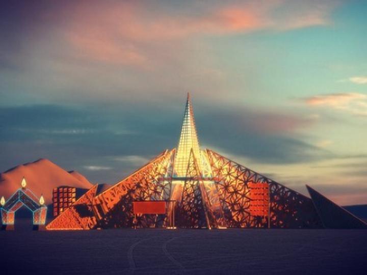 Каким будет главный храм фестиваля Burning Man 2020 - ФОТО