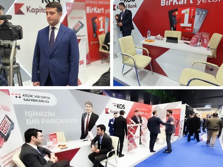 При поддержке Kapital Bank прошла выставка местной продукции и услуг - ФОТО