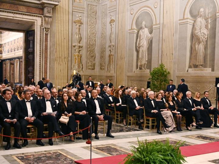 Представлена концертная программа по случаю открытия Года азербайджанской культуры в Италии - ФОТО