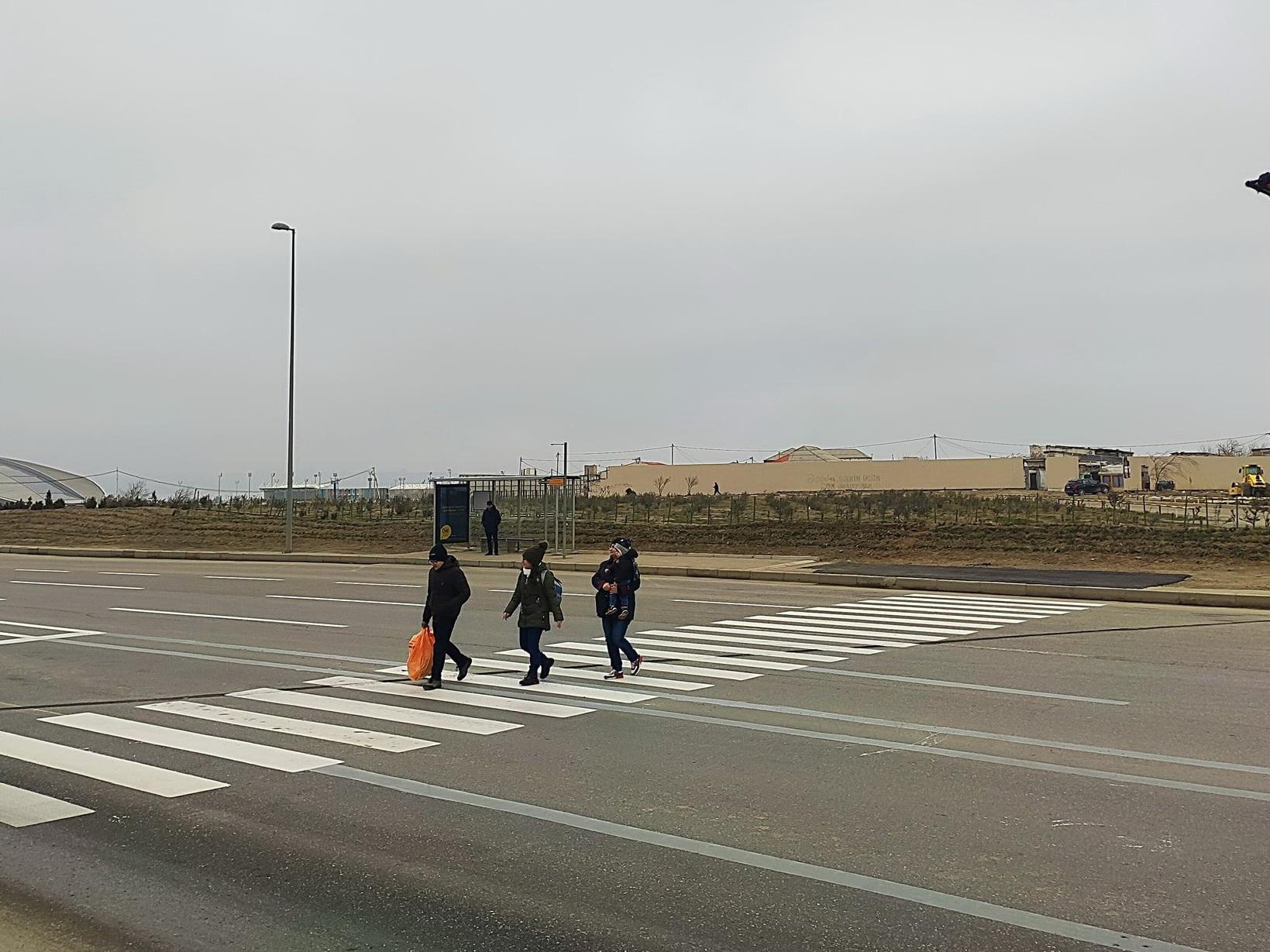 В Баку установили сенсорный светофор - ФОТО