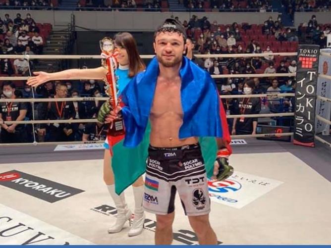 Вугар Керамов начал с победы. Еще один азербайджанец покоряет Rizin – ФОТО – ВИДЕО