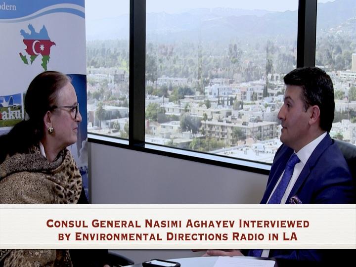 Los Anceles radiosunda Xocalı həqiqətlərindən danışılıb – VİDEO