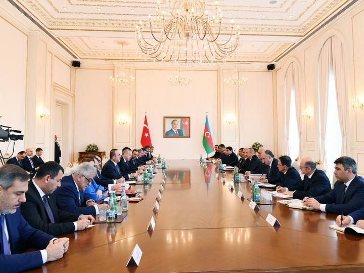 Состоялось VIII заседание Совета стратегического сотрудничества высокого уровня Азербайджан-Турция