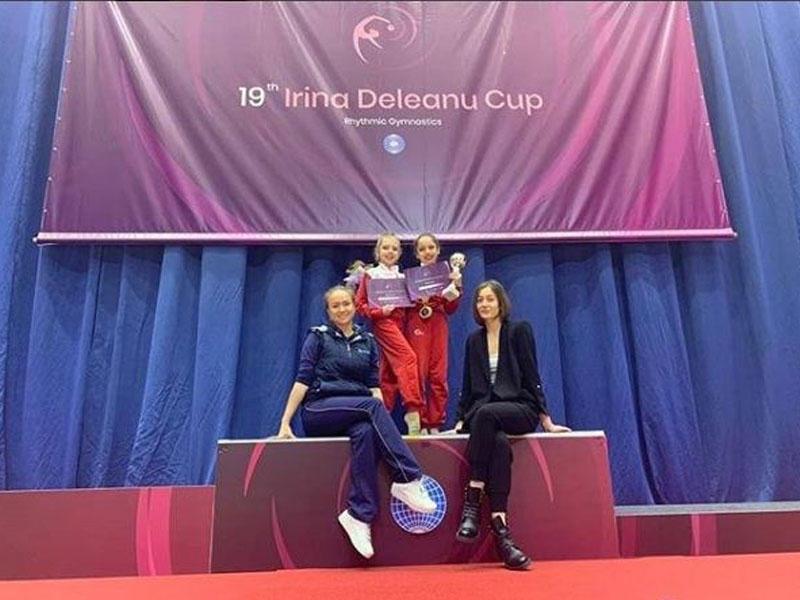 Gimnastımız Rumıniyada 3 qızıl medal qazanıb