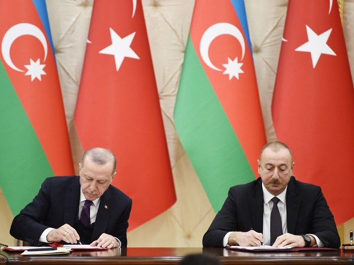 Azərbaycan-Türkiyə sənədləri imzalanıb – FOTO – YENİLƏNİB