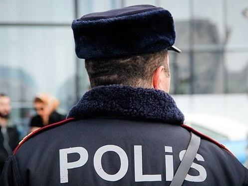 В Баку убит полицейский - ФОТО