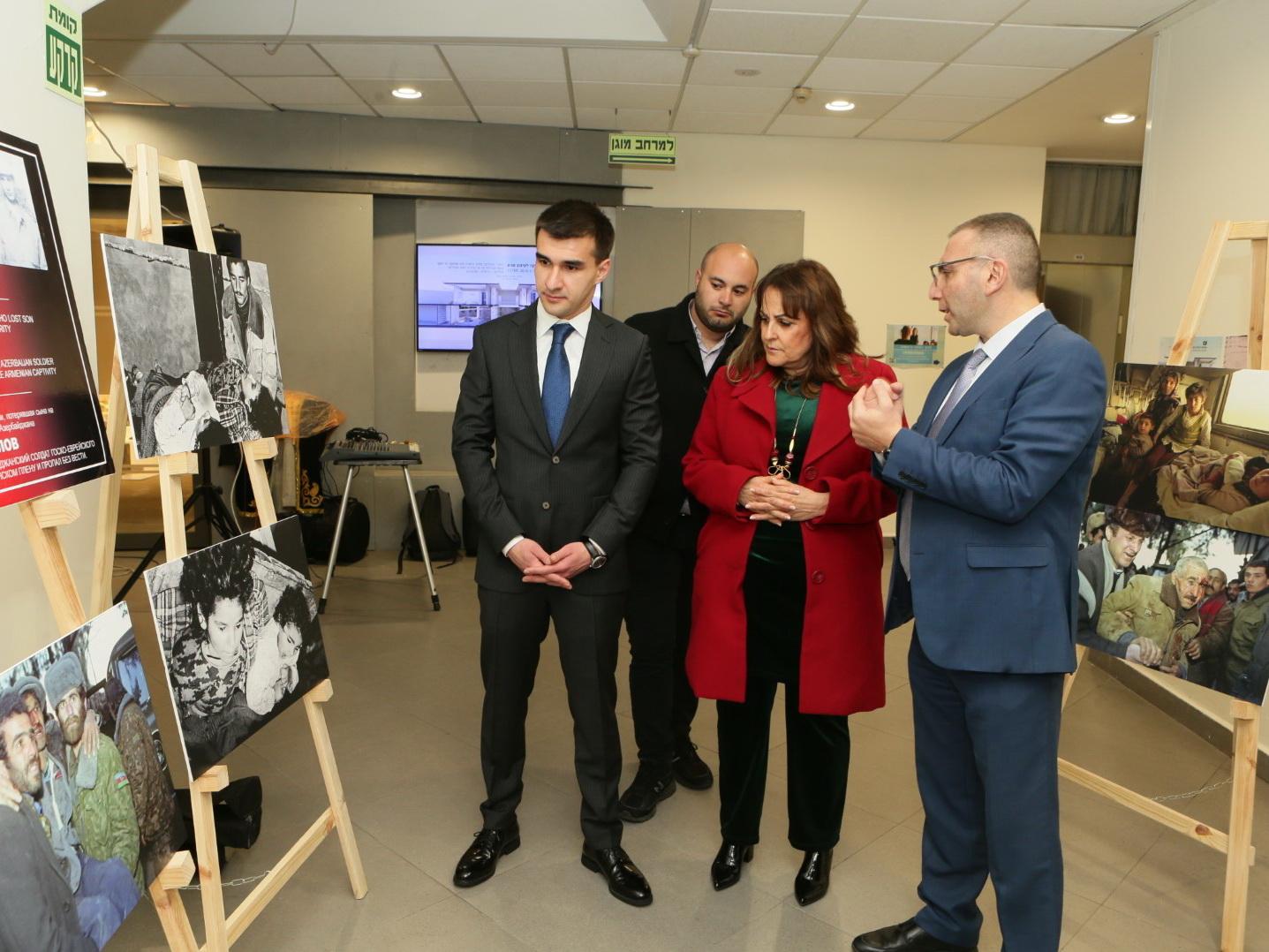 В рамках кампании «Справедливость Ходжалам» в Израиле прошел День памяти жертв геноцида – ФОТО