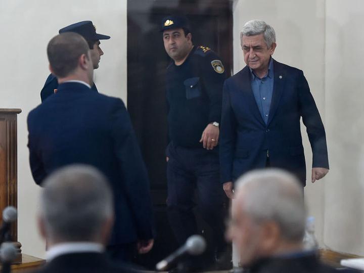 Суд отклонил ходатайство об отводе прокурора по делу Сержа Саргсяна