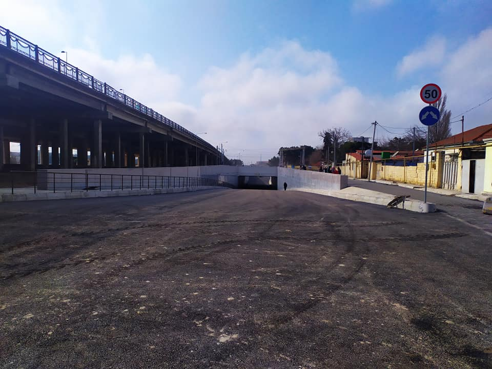 В Баку открывается новый автомобильный туннель – ФОТО