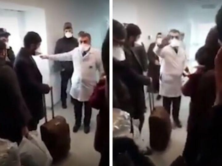 Главврач больницы в Азербайджане уволен после скандального видео с пациентами с подозрением на коронавирус - ВИДЕО
