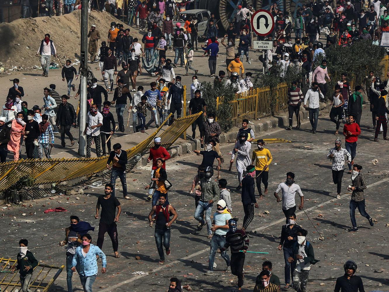 В Нью-Дели число погибших в беспорядках выросло до 42 человек - ФОТО - ОБНОВЛЕНО