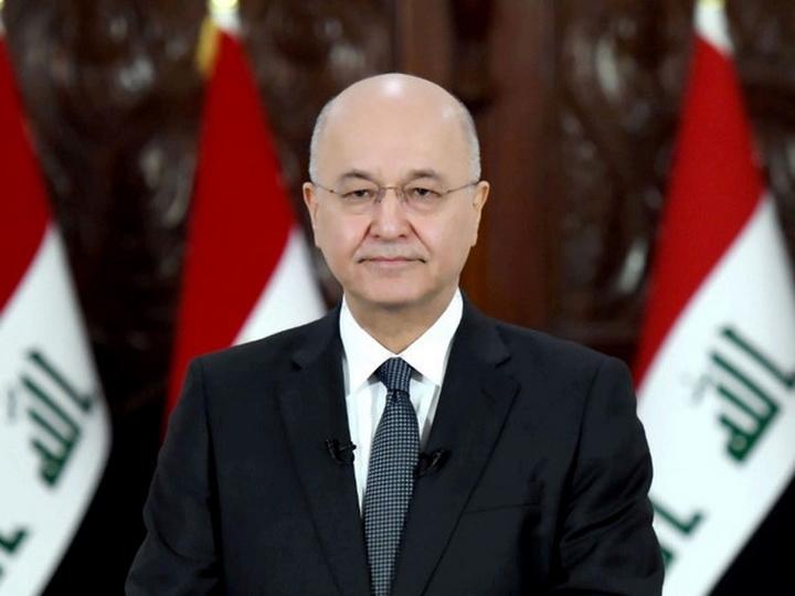 Глава Ирака поздравил Президента Азербайджана