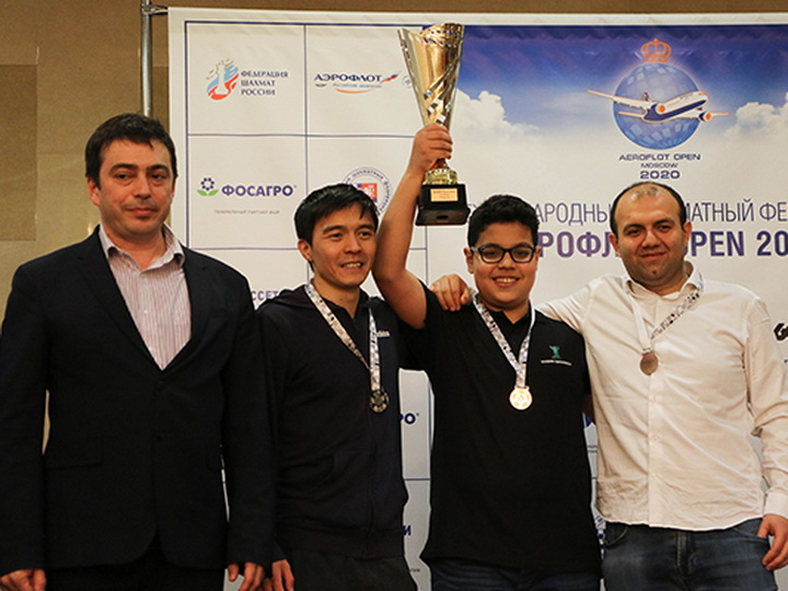 Триумф 14-летнего азербайджанца в Москве: Айдын Сулейманлы выиграл «Аэрофлот Опен-2020»