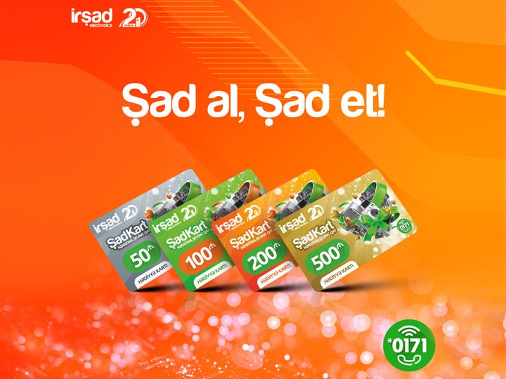 «Подарки без праздника» и «подарки к празднику» от İrşad Elektronics - ФОТО