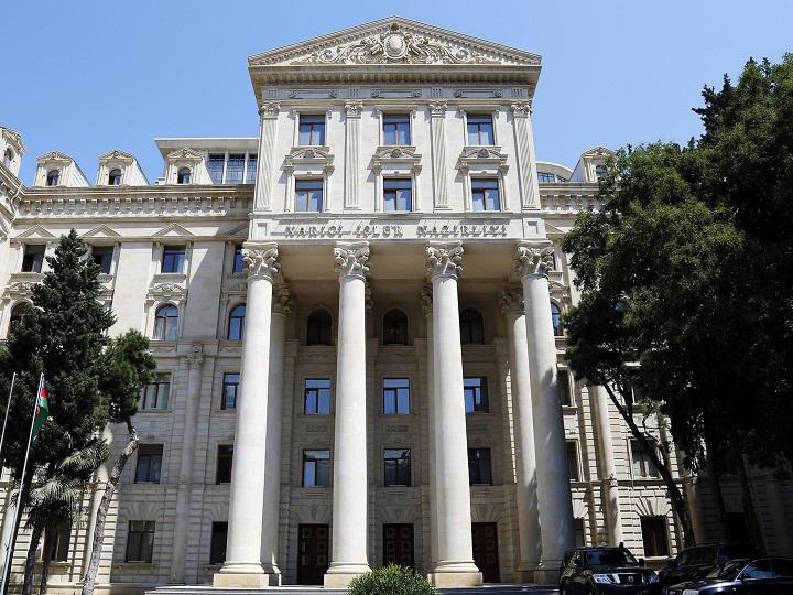 Azərbaycan XİN: Başın sağ olsun, qardaş Türkiyə